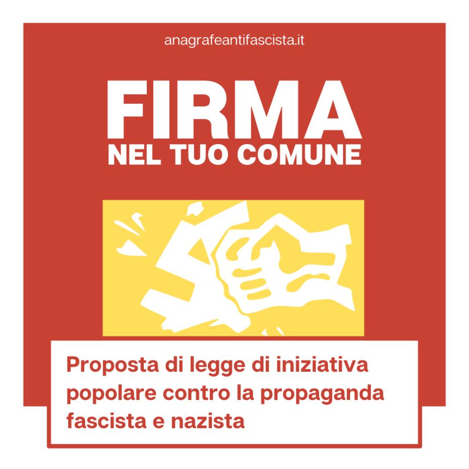 proposta di legge antifascista